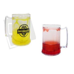 GTX Brindes - Canecas em acr�lico de 350 ml, personalizada com gel em varias cores.