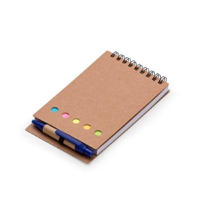 Bloco de anotação com caneta