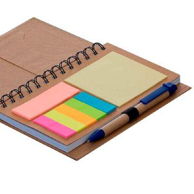 Click Promocional - Bloco de anotações com caneta