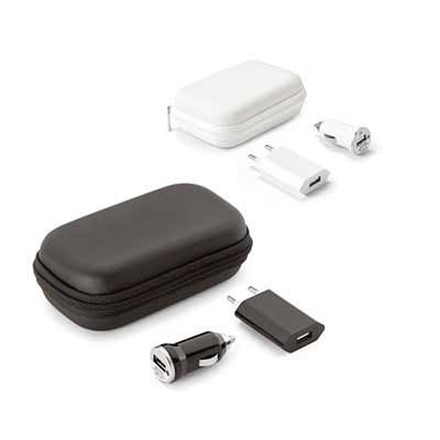 Click Promocional - Kit de Carregadores USB