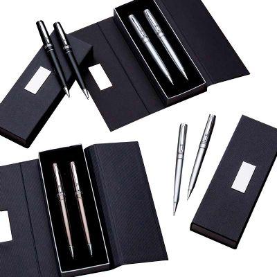 Click Promocional - Conjunto caneta e Lapiseira metal