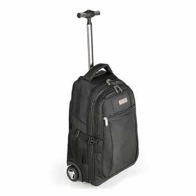 Mochila com rodinhas, USB Charger e Porta Notebook - Modelo Pequim