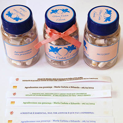 receitinhas-de-alegria - Rótulo adesivo de frasco/tampa.