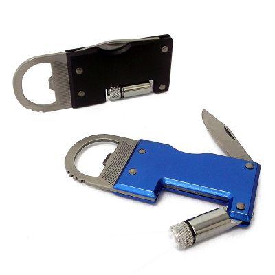 maggenta-produtos-promocionais - Abridor de metal com 5 funções