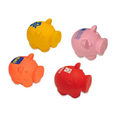 maggenta-produtos-promocionais - Anti-Stress Formato Porquinho Personalizado 1