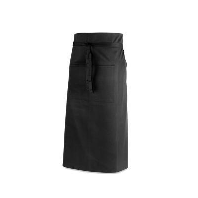 - Avental de bar personalizado produzido em algodão e poliéster 145 g/m², possui dois bolsos frontais de 14 x 10 cm cada. Ideal para promover sua marca...