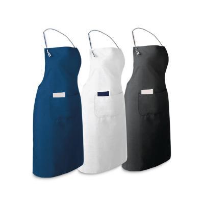 - Avental personalizado produzido em algodão e poliéster 150g/m² com alça ajustavel, possui um bolso interno 8 x 14 cm e outro bolso externo 25 x 16 cm....