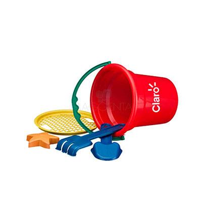 Maggenta  Produtos Promocionais - Baldinho de praia personalizado. 6 opções de cores.