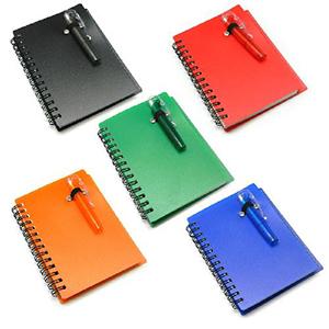 Maggenta  Produtos Promocionais - Bloco de anotações com auto-colante colorido