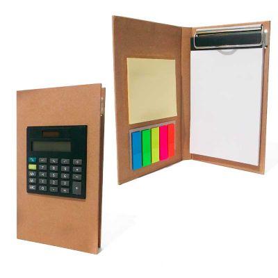 maggenta-produtos-promocionais - Bloco de anotação com calculadora promocional