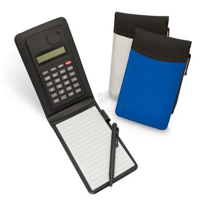 Maggenta  Produtos Promocionais - Bloco de anotações personalizado com calculadora