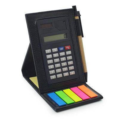 Maggenta  Produtos Promocionai... - Bloco de anotações personalizado com calculadora
