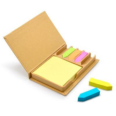 maggenta-produtos-promocionais - Bloco de anotações com sticky notes