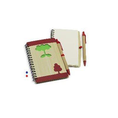 maggenta-produtos-promocionais - Bloco de anotação com caneta promocional
