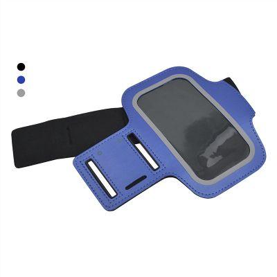 Bra�adeira para celular. Possui compartimento para chave e fecho com velcro ajust�vel.