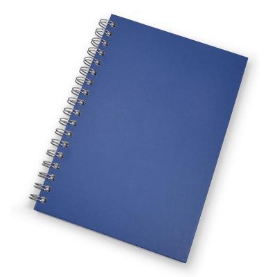- Caderno para brindes promocionais. Possui folha para dados pessoais, calendário, planejamento, marca d'água nas folhas e capa dura com acabamento fosc...