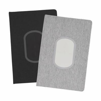 Caderno Com Carregador Wireless Personalizado 1
