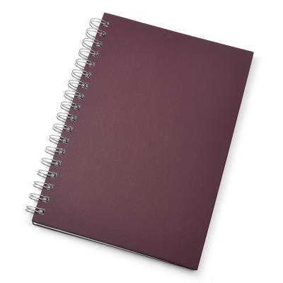 - Caderno para brindes promocionais. Possui folha para dados pessoais, calendário, planejamento, marca d'agua nas folhas e capa dura texturizada, dispon...