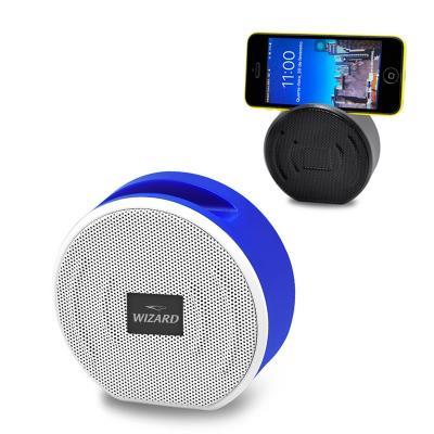 Caixa de Som Bluetooth com Suporte para Celular Personalizada 1 - Maggenta  Produtos Promocionai...