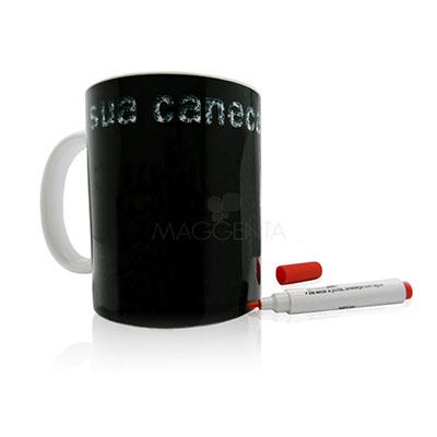 Maggenta  Produtos Promocionais - Caneca com caneta para desenhar, pintar e escrever frases.
