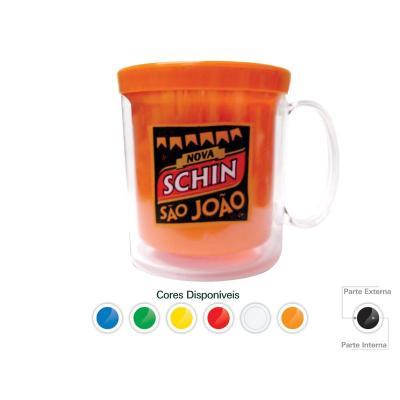 maggenta-produtos-promocionais - Caneca Térmica Cristal Color 300ML Promocionais 1