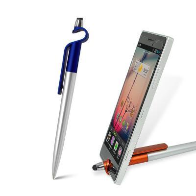 Maggenta  Produtos Promocionai... - Caneta com  Ponteira Touch e Porta Smartphone Personalizado 1