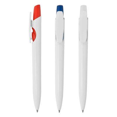 maggenta-produtos-promocionais - Caneta Plástica Esferográfica Promocional