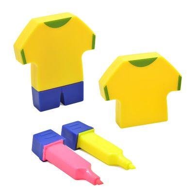 maggenta-produtos-promocionais - Conjunto marca texto camiseta de futebol