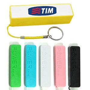 Maggenta  Produtos Promocionai... - Carregador Portátil USB, bateria externa para celulares, câmeras, mp3, tablets e outros