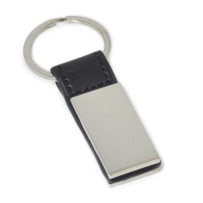 maggenta-produtos-promocionais - Chaveiro em couro com metal.