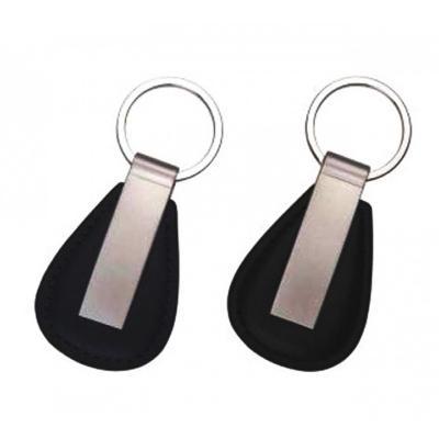 maggenta-produtos-promocionais - Chaveiro de Couro com metal Promocionais 1