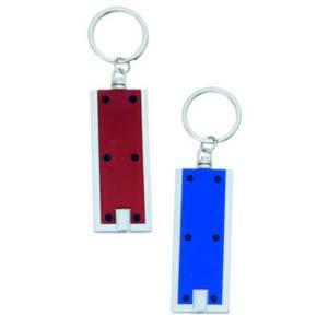 Maggenta  Produtos Promocionais - Chaveiro lanterna  de metal personalizado em diversas cores, com argola de metal super resistente.