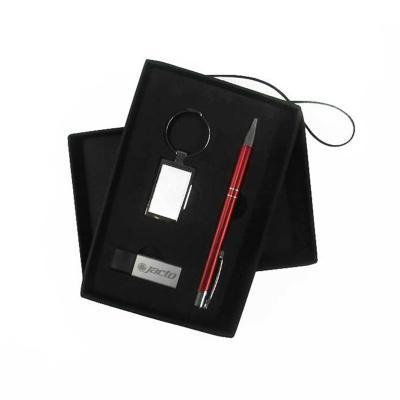 Maggenta  Produtos Promocionais - Conjunto Caneta Chaveiro e Pen Drive Brindes 1