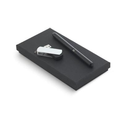 Maggenta  Produtos Promocionai... - Conjunto de Caneta e Pen drive 8GB Personalizado 1