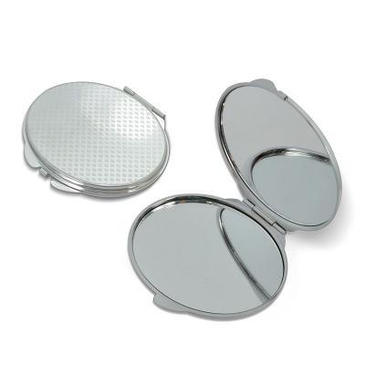Espelho de Bolsa com Moldura de Metal Promocional 1