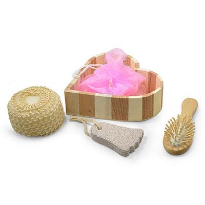 maggenta-produtos-promocionais - Kit banho com 4 peças personalizado.