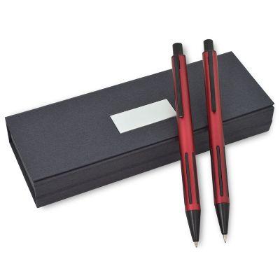 maggenta-produtos-promocionais - Conjunto de caneta e lapiseira personalizada.