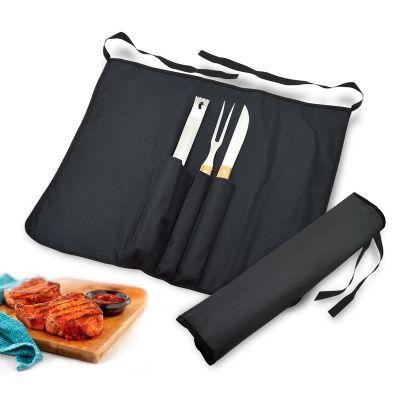 Maggenta  Produtos Promocionais - Kit churrasco personalizado com 4 peças