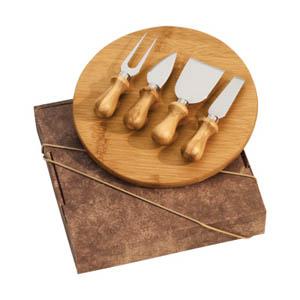 maggenta-produtos-promocionais - Kit Queijo com cinco peças para facilitar o corte.
