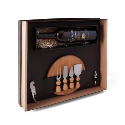 Kit Queijo E Vinho - 7 Pçs 1
