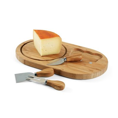 Maggenta  Produtos Promocionai... - Kit queijo personalizado com 4 peças