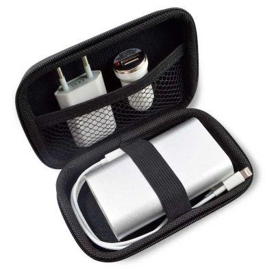 Maggenta  Produtos Promocionais - Kit personalizado com carregador de bateria 5200mah