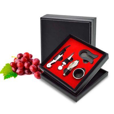 Maggenta  Produtos Promocionais - Kit Vinho com 5 peças