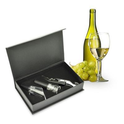 Kit Vinho Personalizado com 3pçs 1 - Maggenta  Produtos Promocionai...