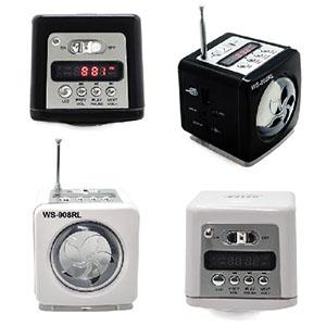 maggenta-produtos-promocionais - Mini MP3 caixa de som portátil multifunções, conecte seu pen drive, cartão MICROSD, MP3, MP4,MP5, MP6,MP7, MP13, MP14, MP15, MP16, MP20, saida de audi...
