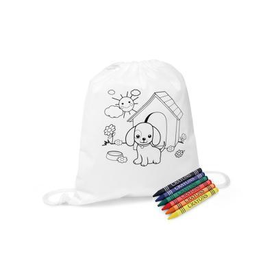 maggenta-produtos-promocionais - Mochila Saco para Colorir Personalizada 1