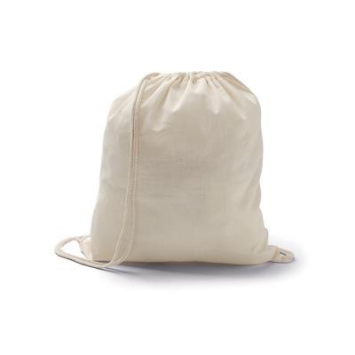 - Mochila Saco personalizada com 100% de algodão. Possui corda para alça. Ideal para brindes promocionais, empresas com foco na preservação do meio ambi...