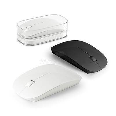 Maggenta  Produtos Promocionai... - Mouse wireless customizado com gravação personalizada.