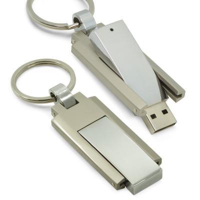 - Pen Drive Chaveiro de metal para brindes personalizados. Possui argola e tampa retrátil com pen drive, permitindo o transporte de diversos documentos...