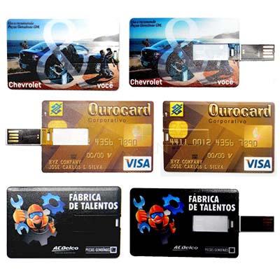 maggenta-produtos-promocionais - Cartão pendrive com impressão personalizada.